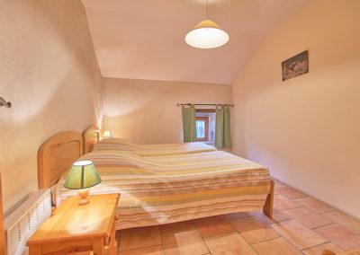 Chambre du gîte Le Palmier au Domaine de l'Astic en Ardèche