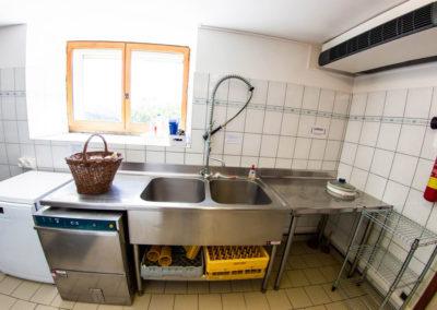 La cuisine du Gîte Les 3 Eaux au Domaine de l'Astic en Ardèche