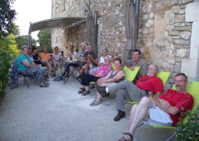 groupe terrasse