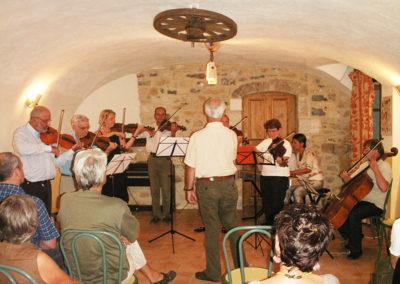 Stage de musique au Domaine de l'Astic